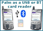 Palm Card Reader