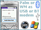 USB Modem for Palm